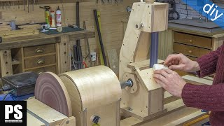 Lathe Sanding Station: Belt Sander Part2