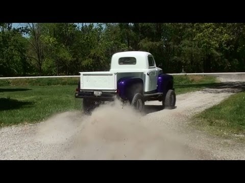Lifted 1948 Ford F1 4x4 Pickup