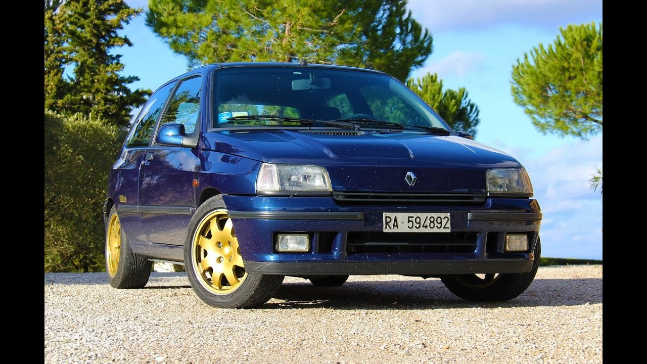 renault clio williams davide cironi drive experience eng subs youtube. Black Bedroom Furniture Sets. Home Design Ideas