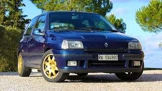 Renault Clio Williams - Davide Cironi Drive Experience (ENG.SUBS)