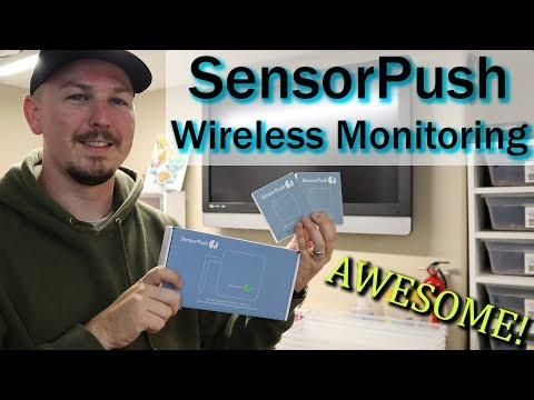 MONITOR YOUR COLLECTION & SURPRISE! | SENSORPUSH REVIEW | Mixology #63