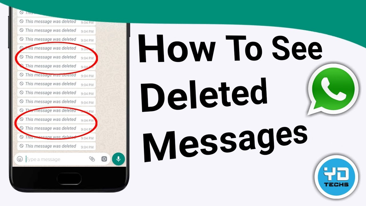 How To See Whatsapp Deleted Messages | Whatsapp Recall Msg ...
