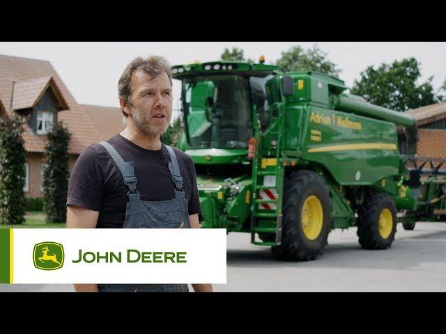 John Deere T660i Mähdrescher im Ernteeinsatz - Testimonial