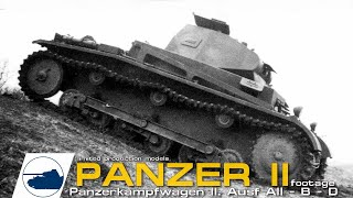 Rare WW2 Panzer II Ausf AII - BII - D -  Panzerkampfwagen 2.
