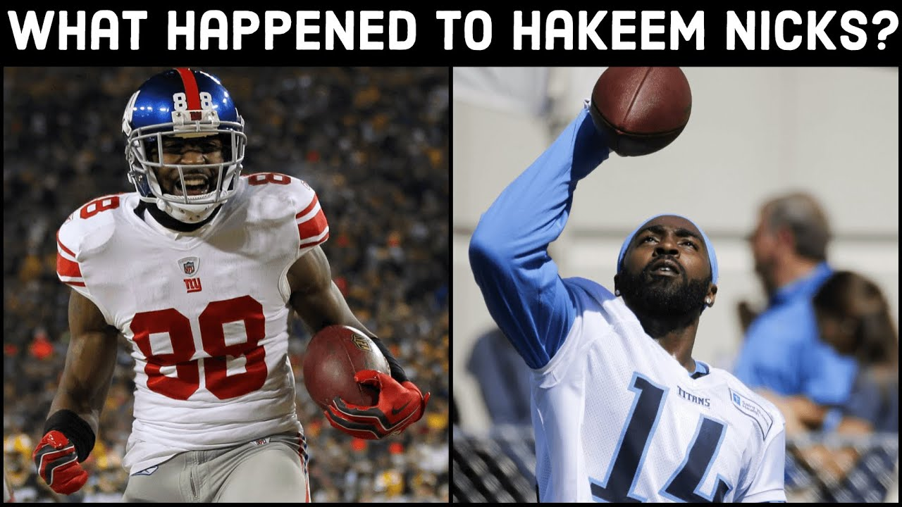 What Happened to Hakeem Nicks???