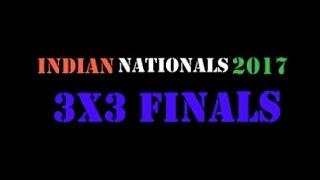 2017 Rubik's Cube Indian Nationals Championship 3x3 Finals