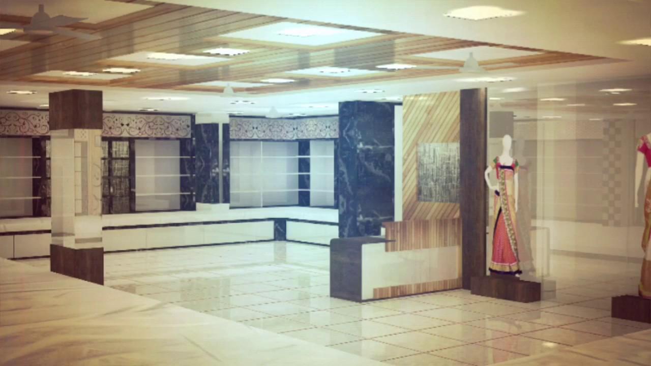 Saree Showroom Interior Design