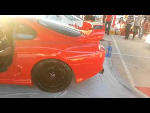 700 HP// Toyota Supra MK4   Back Fire