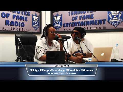 Teesh Tha Writer Interview On The Hip Hop Junky Radio Show