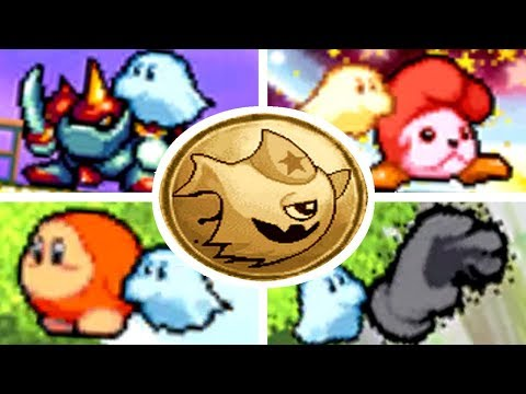 Kirby: Squeak Squad - All Enemies You Can Possess with Ghost Kirby