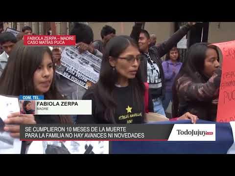 A 10 meses de la muerte de Matías Puca: para la familia no hay avances ni novedades
