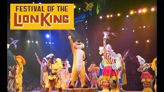 Festival of The Lion King Full Show | Disney's Animal Kingdom | 2019