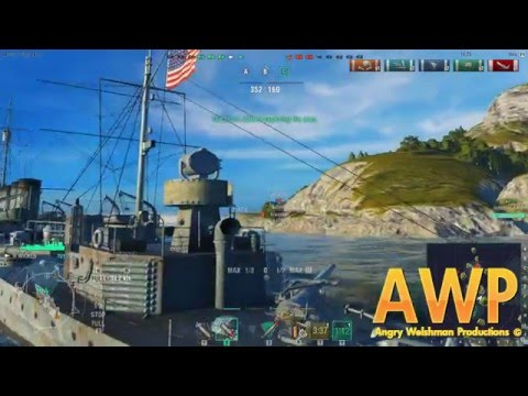 Captain Angry Welshman Plays World Of Warships!