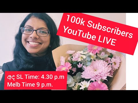 100k Subscribers Live