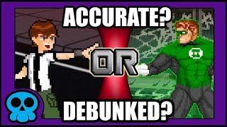 Download An Analysis on Ben 10 vs Green Lantern [DEATH BATTLE] Mp3 and Videos