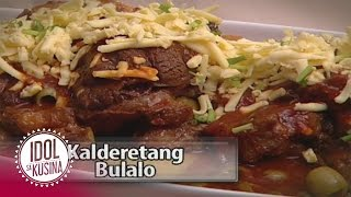 Idol sa Kusina recipe: Kalderetang Bulalo
