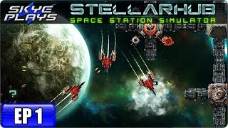 STELLARHUB Space Station Simulation Game - Let