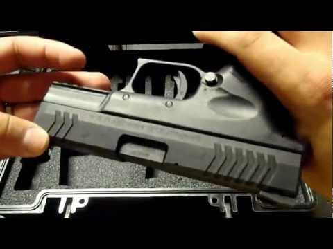 Springfield XDm Compact 3.8 Review and Test Fire 45 ACP