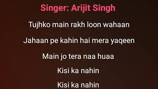Hawayein Song Karaoke With Lyrics Arijit Singh jab harry met sejal clean Instrumental song