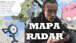 JAKIEGO RADARU UŻYWAJĄ YOUTUBERZY - DZIAŁAJĄCA MAPA RADAR do Pokemon Go