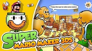 ¡El destructor de Goombas!| Super Mario Maker 3DS