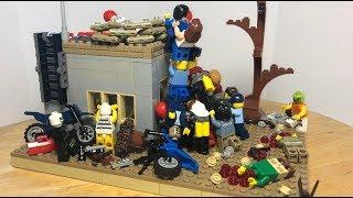 Лего Саморобка Зомбі Апокаліпсис! Орда Зомбі Атакує!