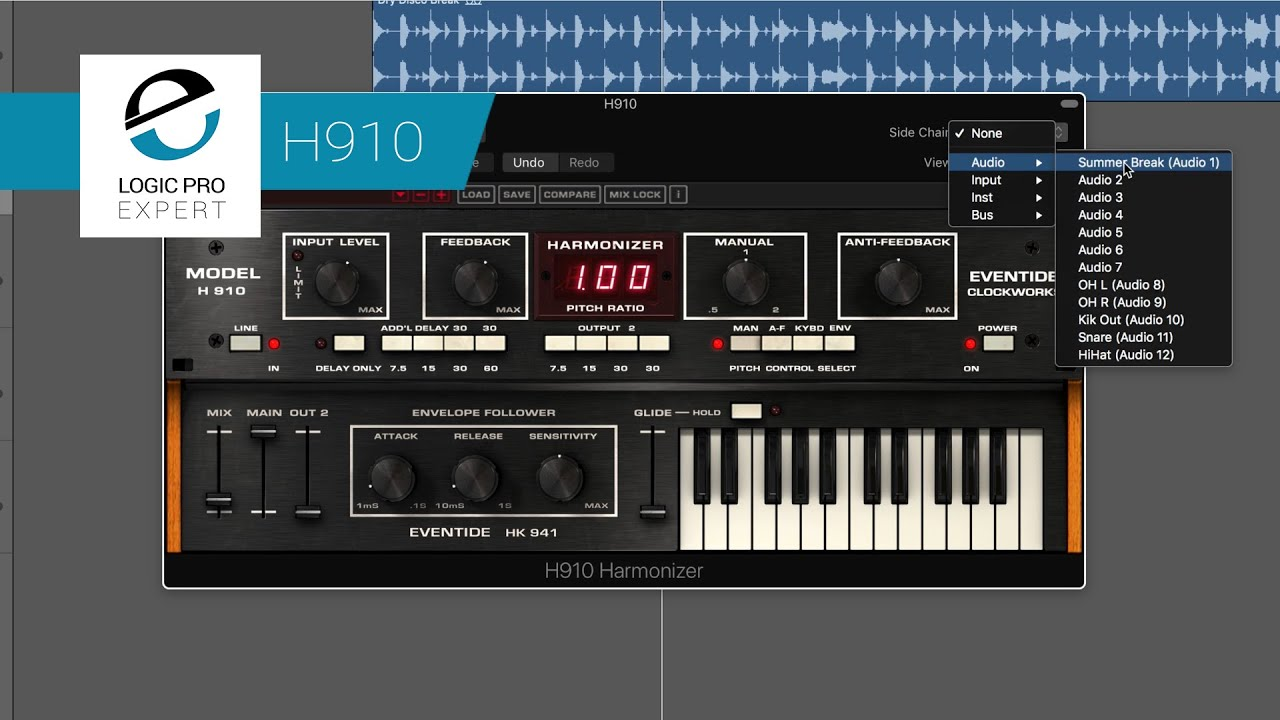 Using & Abusing The H910 Harmonizer From Eventide | Logic Pro