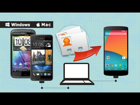 How to backup contacts from HTC Touch HD