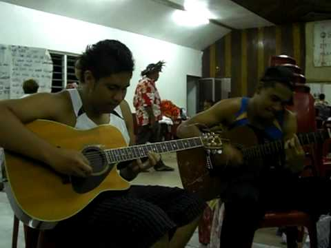 Rarotonga - Jam Session with Cook Island Boys