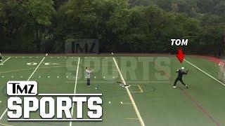 Tom Brady Secret Comeback Workout Dropping Bombs!!!   TMZ Sports