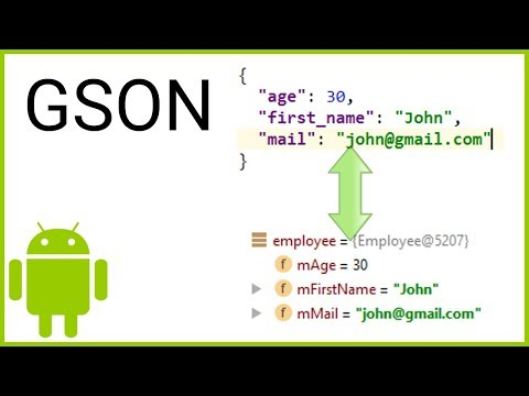 GSON Tutorial Part 1 - SIMPLE (DE)SERIALIZATION - Android