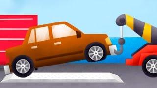 Мультфильм про эвакуатор - детское приложение Trucks