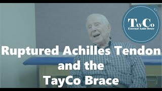 A Ruptured Achilles Tendon Does Not Have To Limit Mobility - TayCo Testimonial