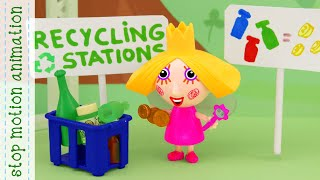 Holly saves the planet from the garbage, Recycle Station