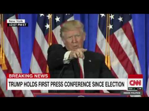 Epic! Donald Trump Calls Out CNN as Fake News🇺🇸 - YouTube