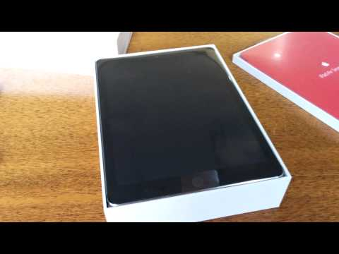 iPad Air 2 Space Grey 128gb unboxing - 4K