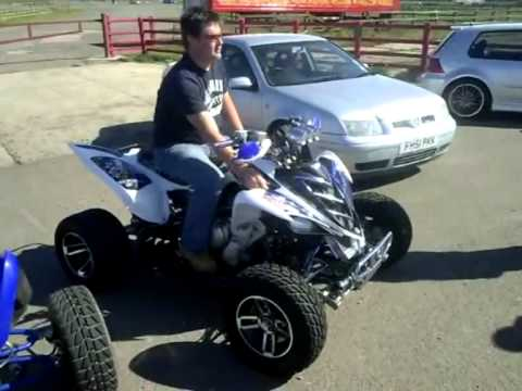 Yamaha raptor 700 turbo vs yamaha raptor 1000cc youtube for 2011 yamaha raptor 90 for sale