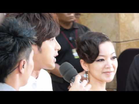 110424 賀軍翔 cut @ Singapore Star Awards 2011 Pre-show