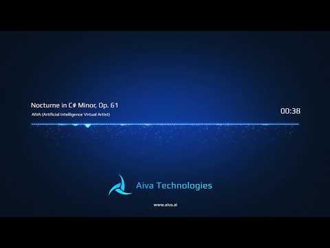AIVA - Nocturne in C# Minor, Op 61