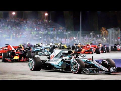 Formula 1 Singapore Grand Prix 2019 I F1 Singapore Grand Prix Event I 4K I