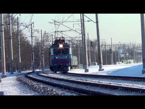"""ЧС2к-438 с поездом №71 """"Астана - Москва"""""""