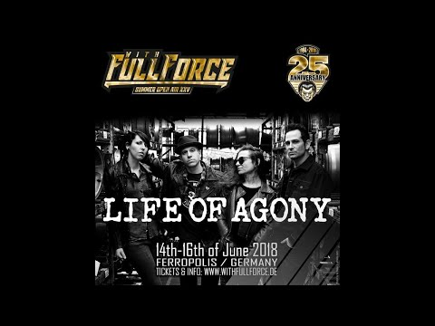 LIFE OF AGONY live at With Full Force Festival 2018 in Gräfenhainichen, Germany