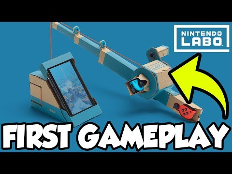 Catching the RAREST Fish in Nintendo Labo Fishing! [🔴LIVE]