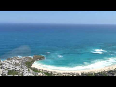 Macao beach - Dominican Republic from the air 4K hd