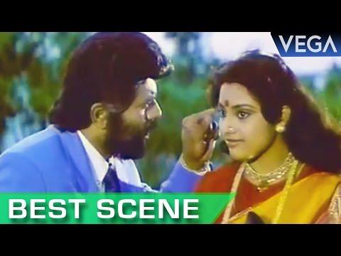 Meena Tries To Cheat Sarath Kumar || Nadodi Mannan Tamil Movie || Best Scene