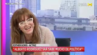 Si Alberto Rodríguez Saá y CFK fueran candidatos, ¿esther goris los votaría?
