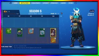 Fortnite saison 5 Danses ft: Swipe It, Youre Awesome, Calculated, Breakdown, Gentlemans Dab