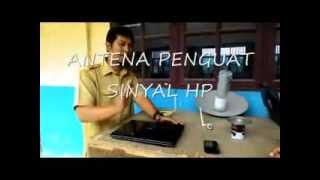 ANTENA ANEH PENGUAT SINYAL HP