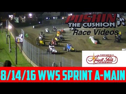 8/14/16 Angell Park Speedway WWS Sprint Feature