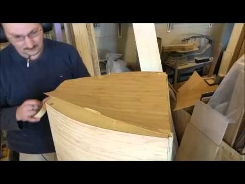 Kravchenko Audio - Speaker - Enclosure Veneering Part the Last